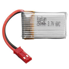 Batterie 3.7V 250mAh 60C Kudian Broche JST