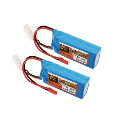 Batterie 7.4V 1300mah 25C Zop Power Broche Jst