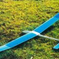 Le plan du Larus planeur 2 axes tout bois