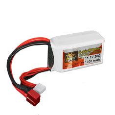 Batterie 11.1V 1300MAH 20C Zop power broche T