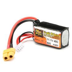 Batterie 11.1V 500mAh 45C Zop Power broche XT60