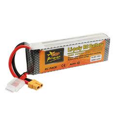 Batterie 14.8V 3000mah 30C Zop Power broche XT60
